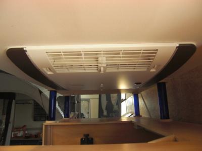 Demoanlage Dach Unterseite
