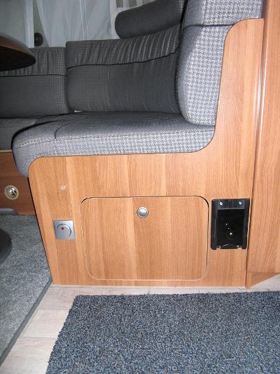 Staubsauger Einbau Sitzbank